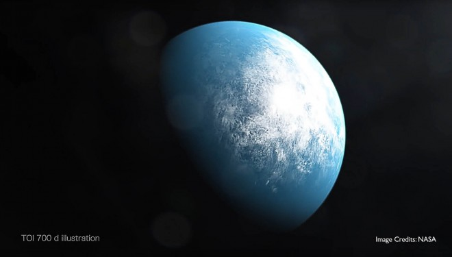 Earth sized exo-planet discovered